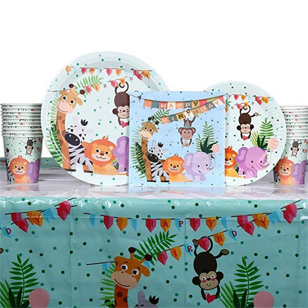 animals themed  party supplies for sale online in Dubai