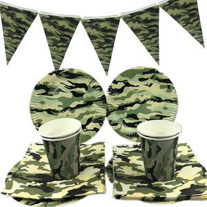 Army themed party supplies for sale online in Dubai