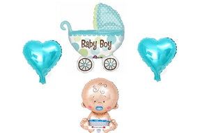 New Born Baby Boy Bouquet 2 - PartyMonster.ae