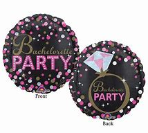 Bachelorette Foil Balloon-18in - PartyMonster.ae