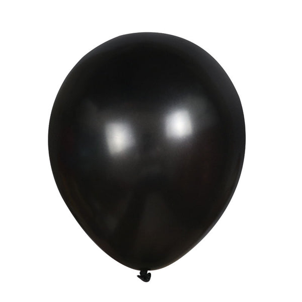 Black latex balloon for sale online in Dubai