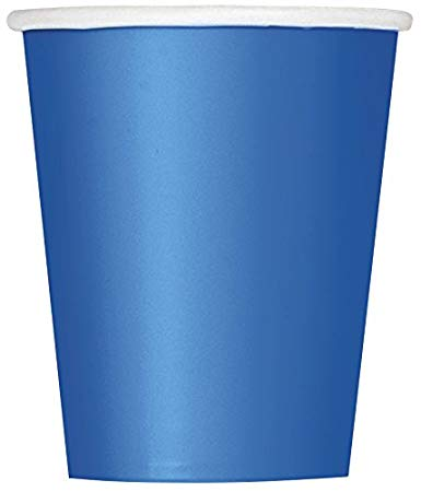 Blue Paper Cups - 10pcs - PartyMonster.ae