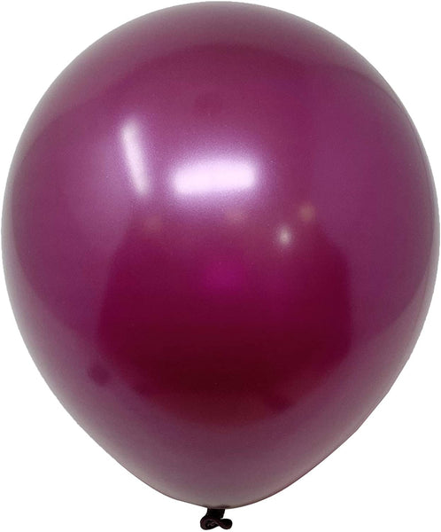 Burgundy latex balloon for sale online delivery in Dubai