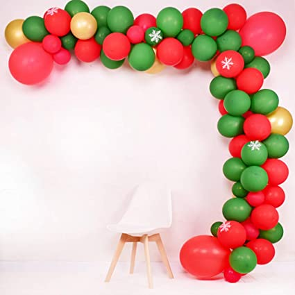 christmas balloon half arch for sale online in Dubai