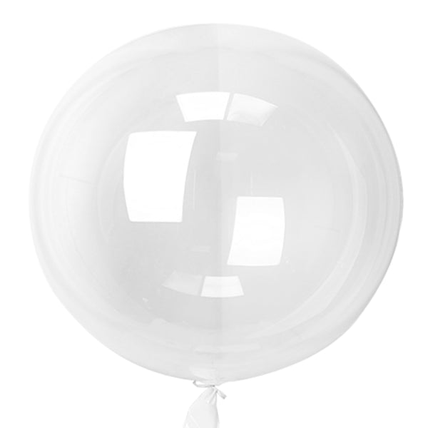 clear 3 feet latex balloons for sale online in Dubai