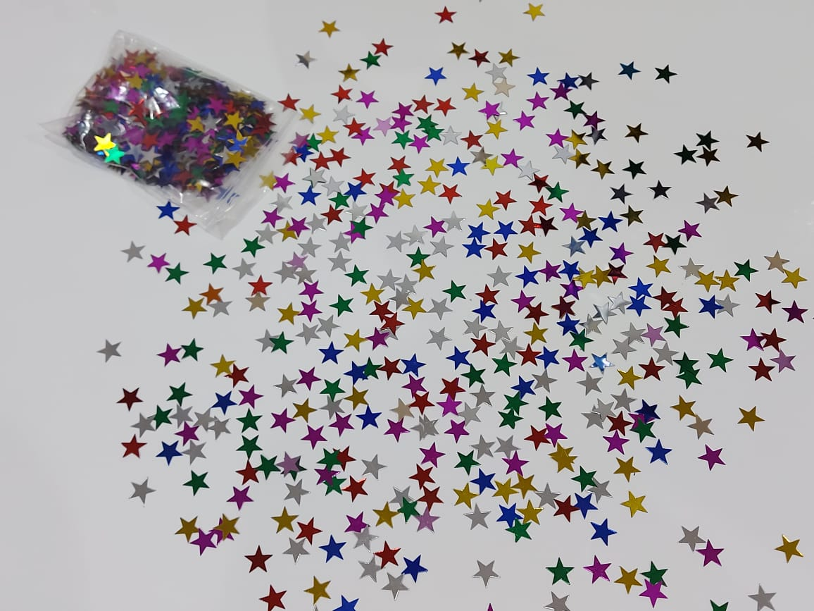 colourful star confetti for sale online in Dubai
