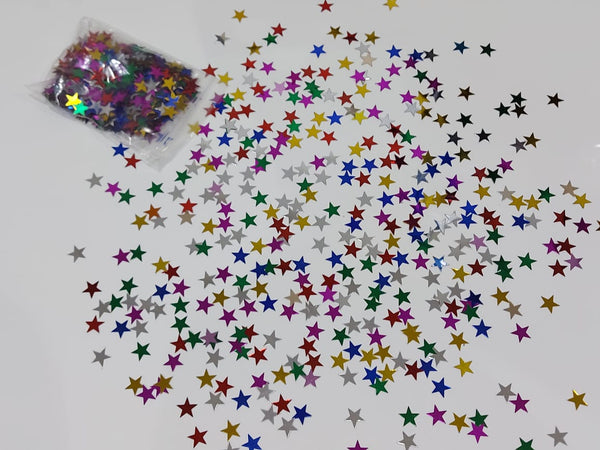star shaped confetti for table top for sale online in Dubai