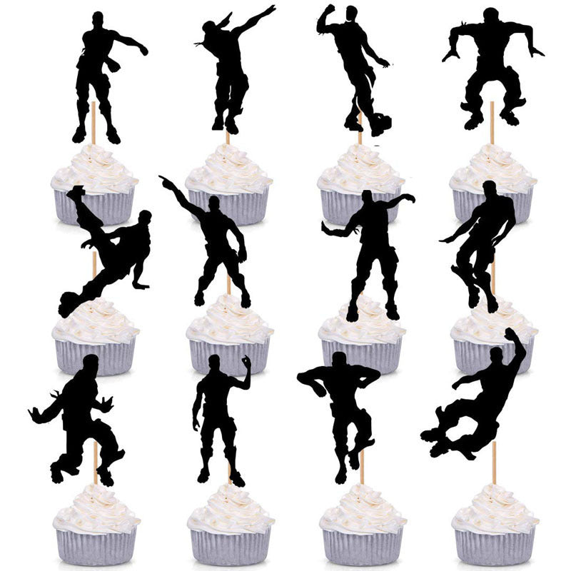Cupcake toppers - PartyMonster.ae