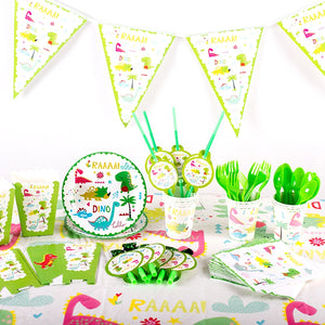 Dinosaur themed party supplies for sale online in Dubai