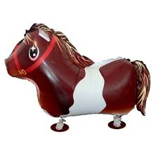 Horse Walking Balloon - 25in - PartyMonster.ae