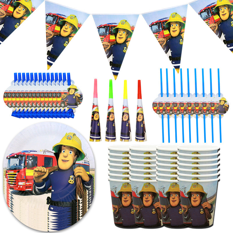 Fireman Sam  party supplies for sale online in Dubai