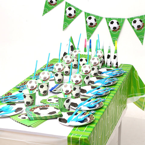 Football themed party supplies in Dubai