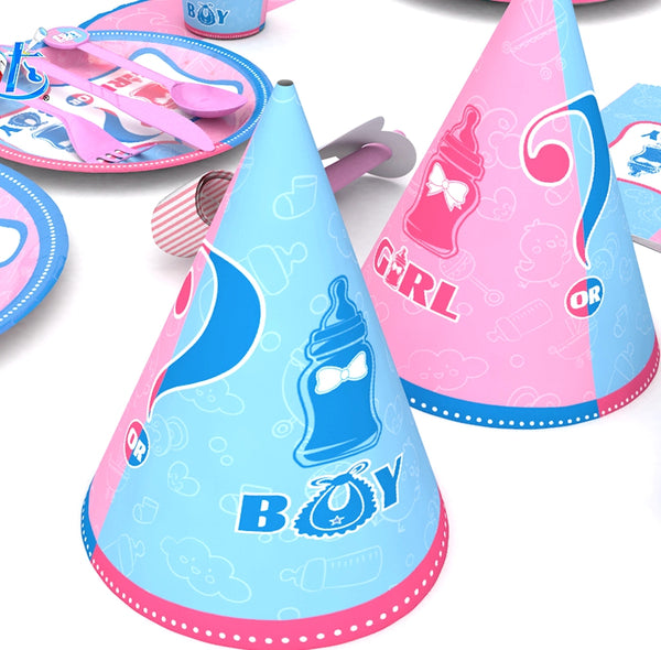 Party Hats gender reveal theme for sale online in Dubai