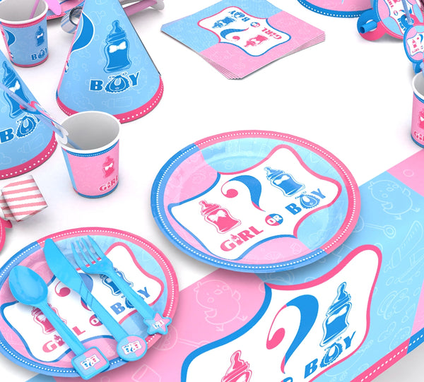 Gender reveal party supplies for sale online in Dubai