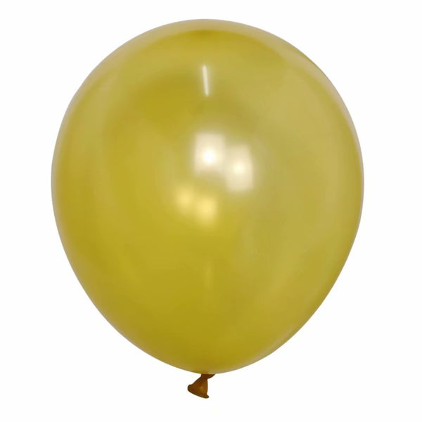 Gold Yellow latex balloon for sale online delivery in Dubai