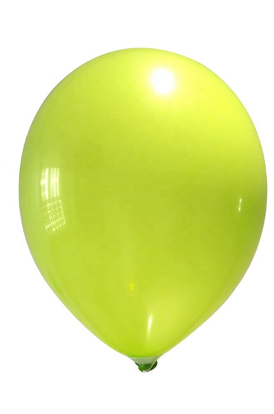 Lime green latex balloon for sale online delivery in Dubai