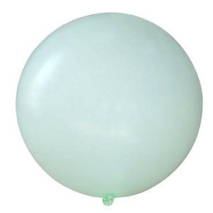 Pastel Green 3 Feet Latex Balloon for sale online in Dubai