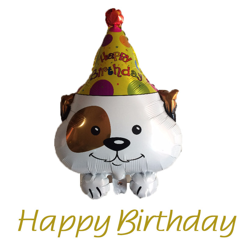 Happy Birthday Dog Foil Balloon - PartyMonster.ae