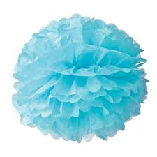 Pom Pom Hanging Decoration Paper Tissue