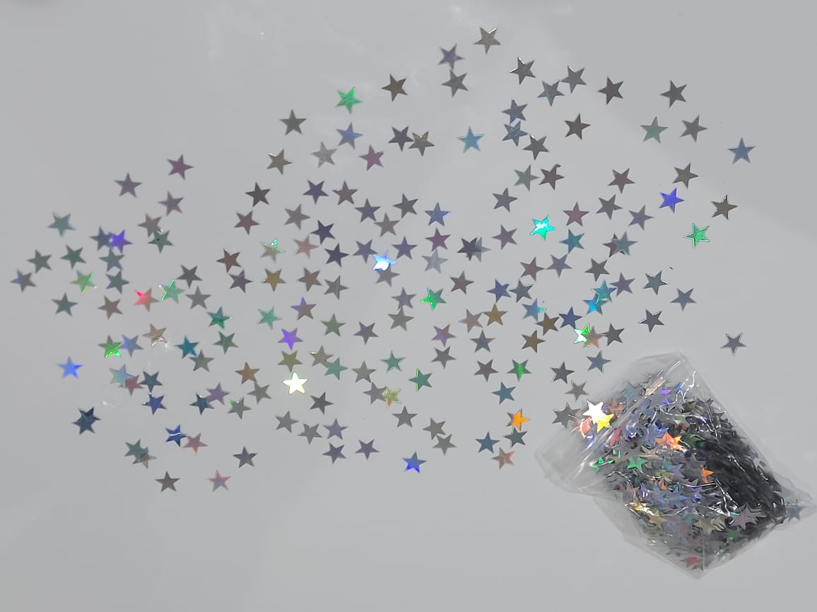 Iridescent stars confetti for sale online in Dubai