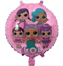 LOL Doll Family Round Foil Ballon 18in - PartyMonster.ae