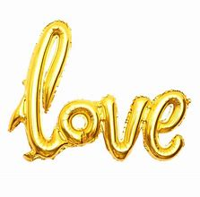 Love Gold Cursive writing foil balloon- 40in - PartyMonster.ae