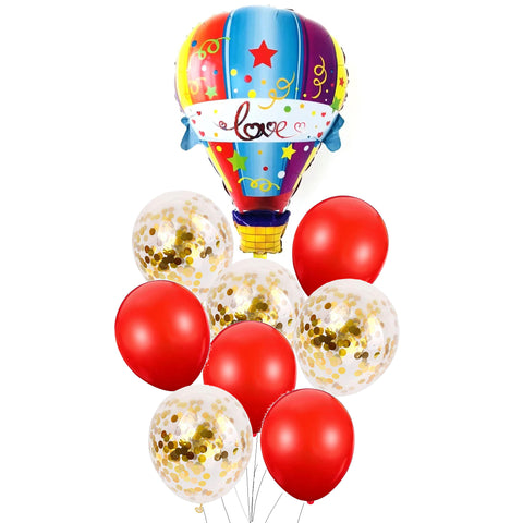 Love is in the air balloons bouquet - PartyMonster.ae