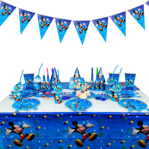 Mickey Mouse themed party supplies for sale online in Dubai