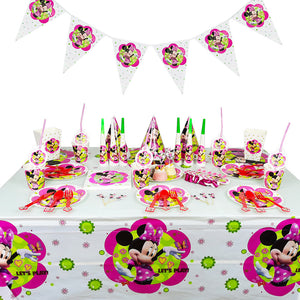 Minnie Mouse themed party supplies for sale online in Dubai