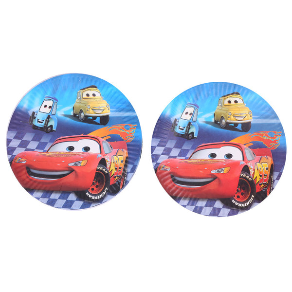 paper plates Cars themed for sale online in Dubai