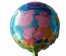 Peppa Pig Family Foil Balloon - 18in - PartyMonster.ae
