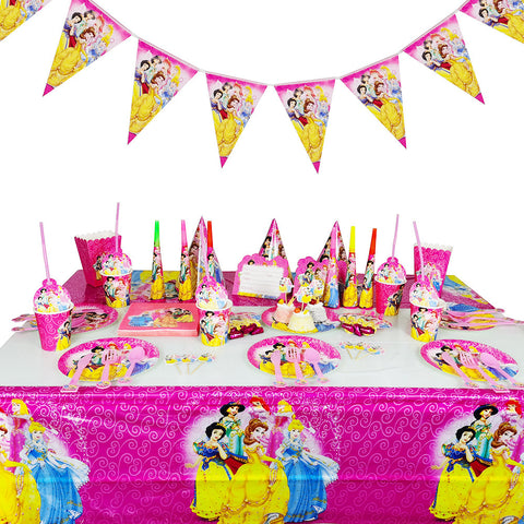 Princesses themed party supplies for sale online in Dubai
