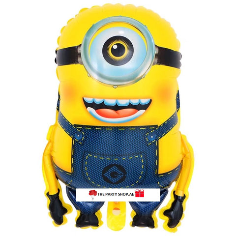 Minion Full Length Balloon - 23in - PartyMonster.ae