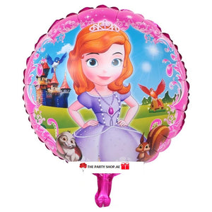 Sophia The First Foil Balloon - 18in - PartyMonster.ae