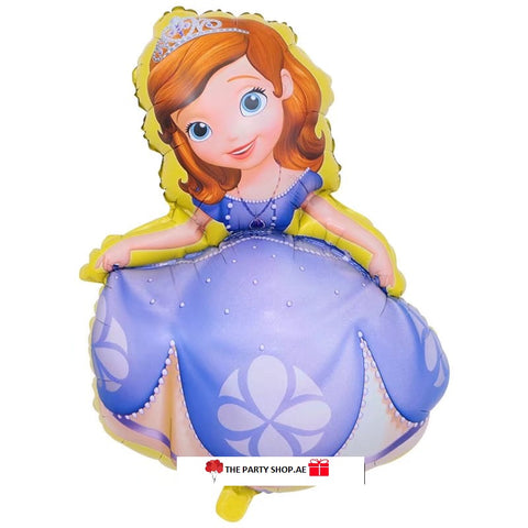 Sofia The First Super Shape Foil Balloon - 40in - PartyMonster.ae