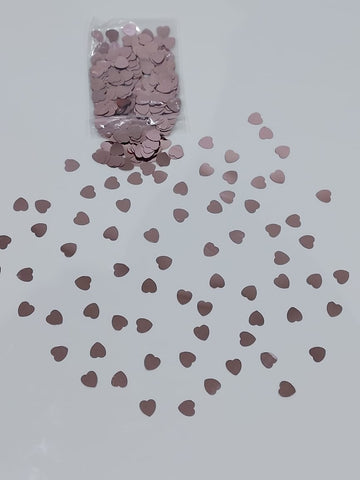 rose gold hearts foil confetti for sale online in Dubai
