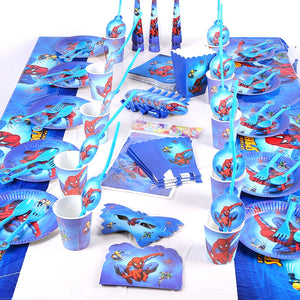 Spiderman themed party supplies for sale online in Dubai
