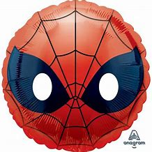 Spiderman Face Shaped Foil Balloon -18inches