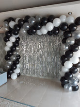 Silver Tassel/ tinsel Foil curtain, backdrop