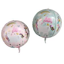 Happy Birthday Unicorn Foil Balloon-22in - PartyMonster.ae