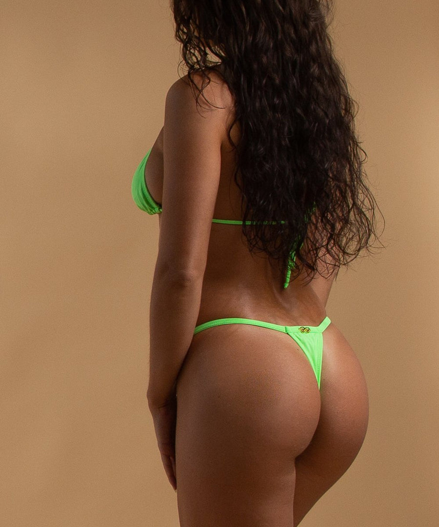 Naomi Bottoms - The Bikini Block - Neon Green