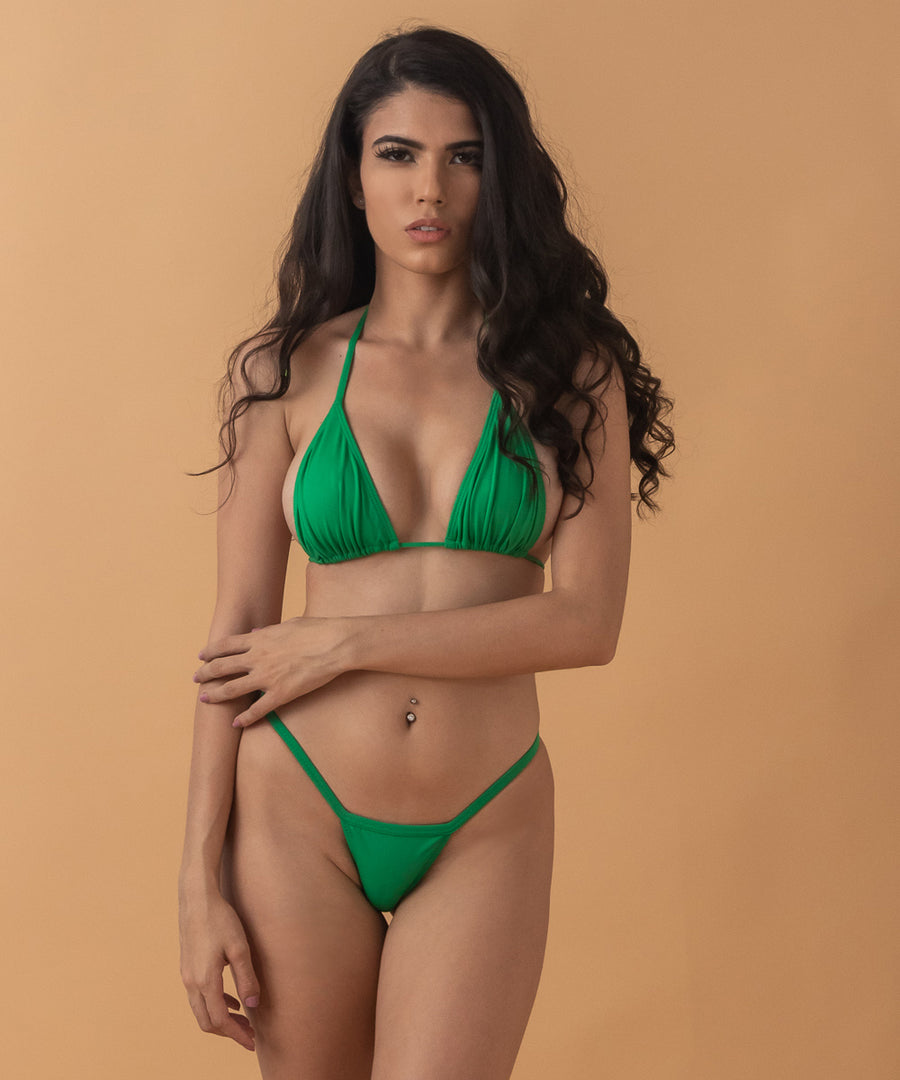 Nayita Top - The Bikini Block - Green