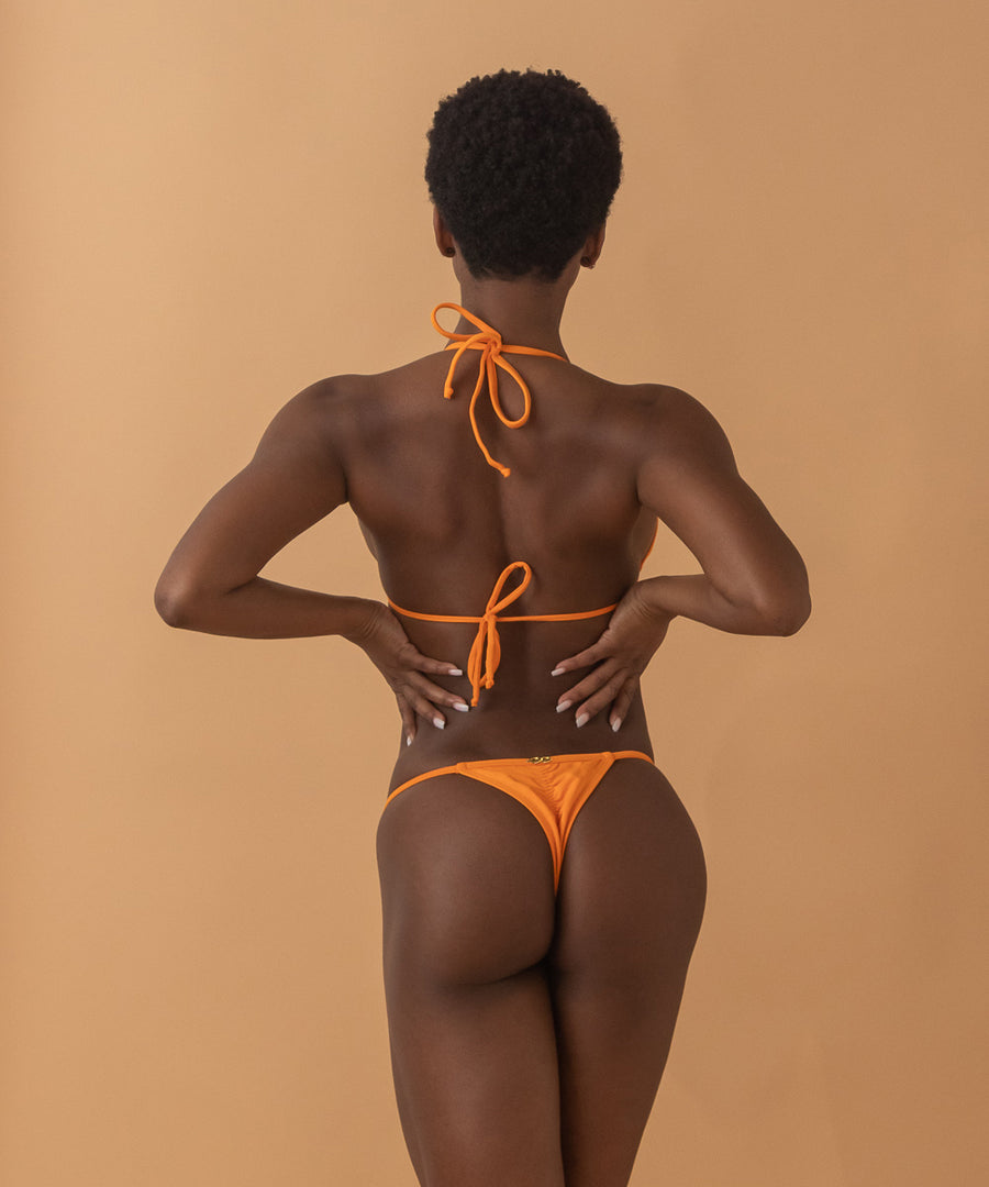 Yaslen Bottoms - The Bikini Block - Orange