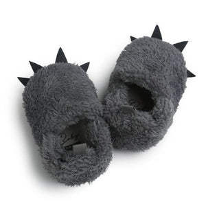 'Monster' paw first walker slippers
