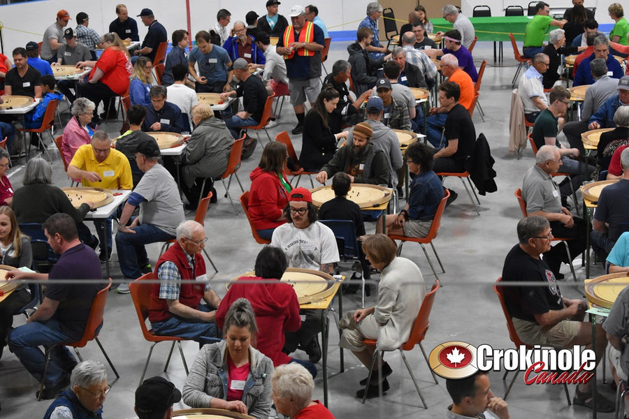 World Crokinole Championship 2019 - Abijah Jongsma - Recreational Singles & Doubles World Champion