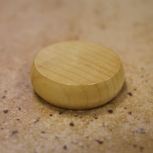 100 Natural Wood Crokinole Discs