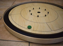 Load image into Gallery viewer, Crokinole Canada Crokinole Pieces No Pouch 13 Green Tournament Size Crokinole Discs (Half Set)