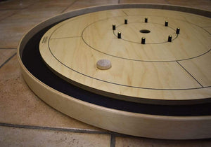 Crokinole Canada Crokinole Pieces No Pouch 13 Natural Wood Tournament Size Crokinole Discs (Half Set)
