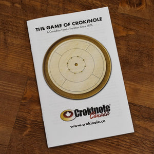 The Royal Red Tournament Crokinole Board Game Set (Meets NCA Standards)