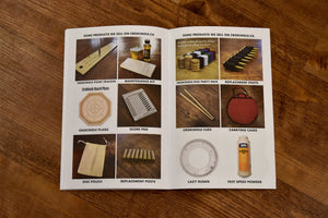 Crokinole Rules & Score Cards (Physical Copy)